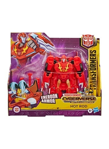 Hasbro Transformers Cyberverse Büyük Figür E1886-E7107 Renkli